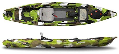 Feel Free Lure 13.5 Kayak with Sonar Pod Lime Camo