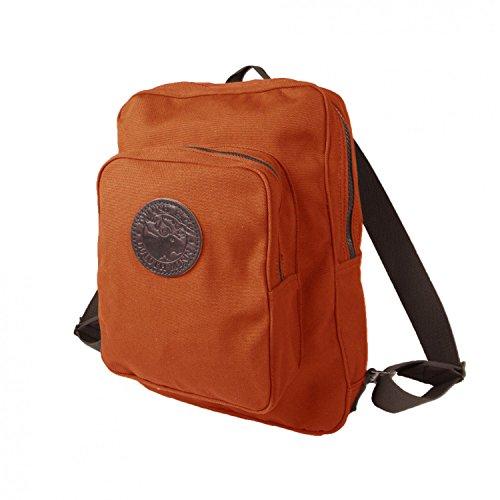 Duluth Pack Medium Standard Daypack, Orange, 16 x 12 x 4-Inch