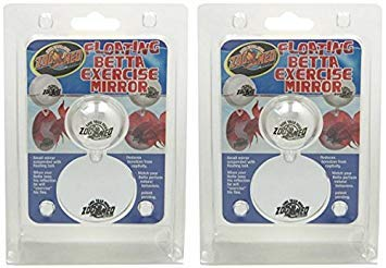 Zoo Med Floating Betta Exercise Mirror (2 Pack)