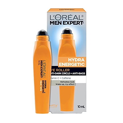 Fatigue Anti Care Eye (L'Oreal Paris Men Expert Hydra-Energetic, Anti Fatigue Ice Cold Eye Roller With Vitamin C & Caffeine, For Tired Skin, 0.33-Fluid OZ)