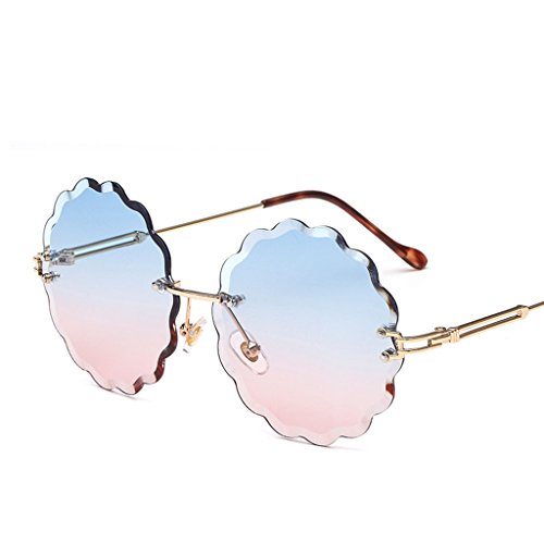 Gafas Sol Sol 4 Gafas Sol De De De HAIHAI Gafas Moda Marco 5 Sin De pqwgEXxC