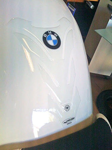 PARASERBATOIO ADESIVO 3D TRASPARENTE PROTEZIONE SERBATOIO Resinato per MOTO BMW
