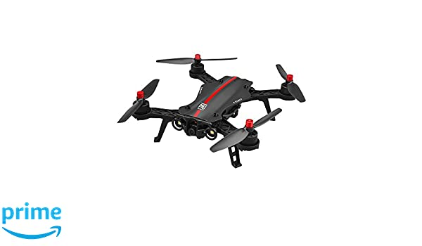 PNJ Drone de Carrera 350 x 330 x 90 mm Negro/Rojo: Amazon.es ...