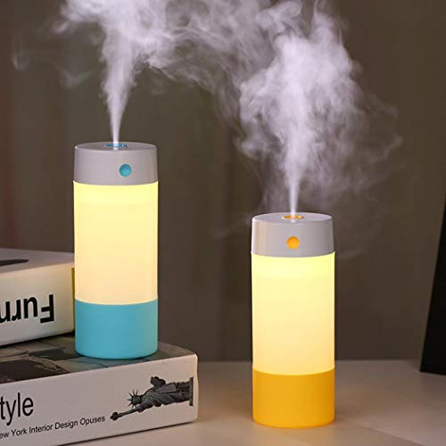 Hioplo Aroma Essential Oil Diffuser Night Light Ultrasonic Air Humidifier 6-7 HOURS Continuous Diffusing LED Lights