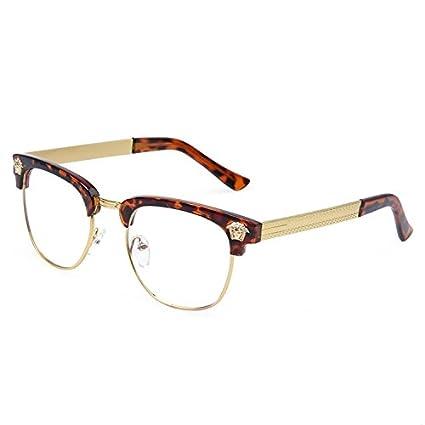 Amazon.com: LEiJing Alloy Fashion glasses Nice eye Luxury frame Good ...