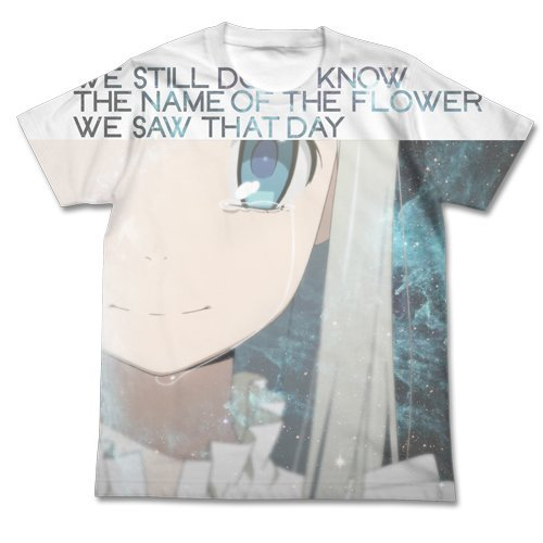 Ano Hi Mita Hana no Namae wo Bokutachi wa Mada Shiranai Menma Full Graphic T-shirt Full Color L by COSPA