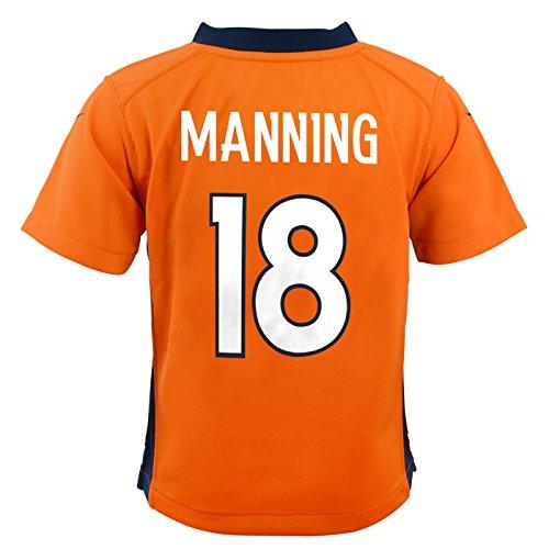 Manning Game Jersey - NIKE Peyton Manning Denver Broncos Home Orange Infant Game Jersey (12M-24M)