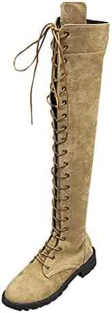fc53ff7f14e1f Shopping Combat - Over-the-Knee - Boots - Shoes - Women - Clothing ...