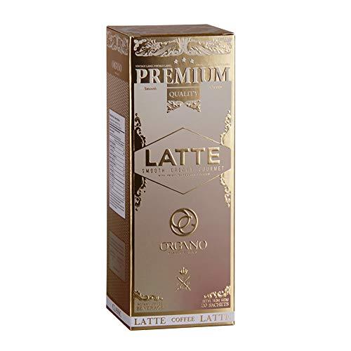Organo Gold Organic Gourmet Cafe Latte U.S.A Packaging (1 Box)