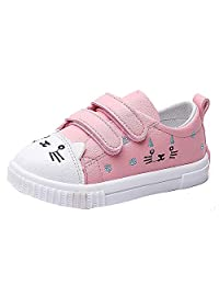 Infant Toddler Baby Girls Boys Casual Shoes Sneaker Cute Cat Sports Running Shoes Single Shoes 0-3 Years Old