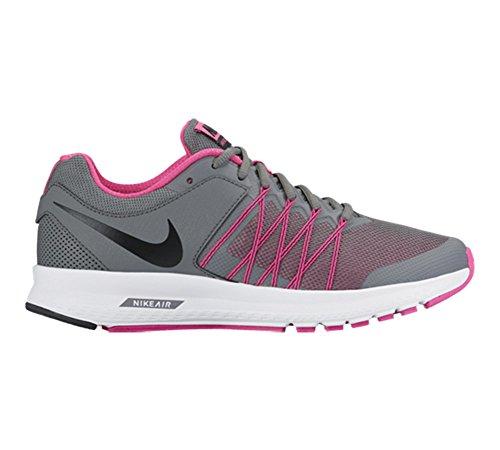 Zapatillas De Running Nike Mujeres Air Relentless 6 Nuevas, Gris / Rosa 9.5