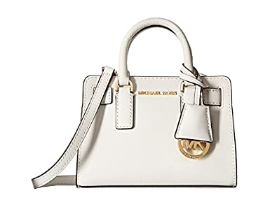 5be66db81b81 MICHAEL Michael Kors Dillon Mini Top Zip Crossbody, Color 085 Optic White