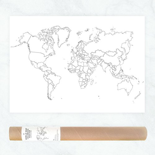 Plain outlines political map of the world to color in as travel map plain outlines political map of the world to color in as travel map sales map publicscrutiny Images