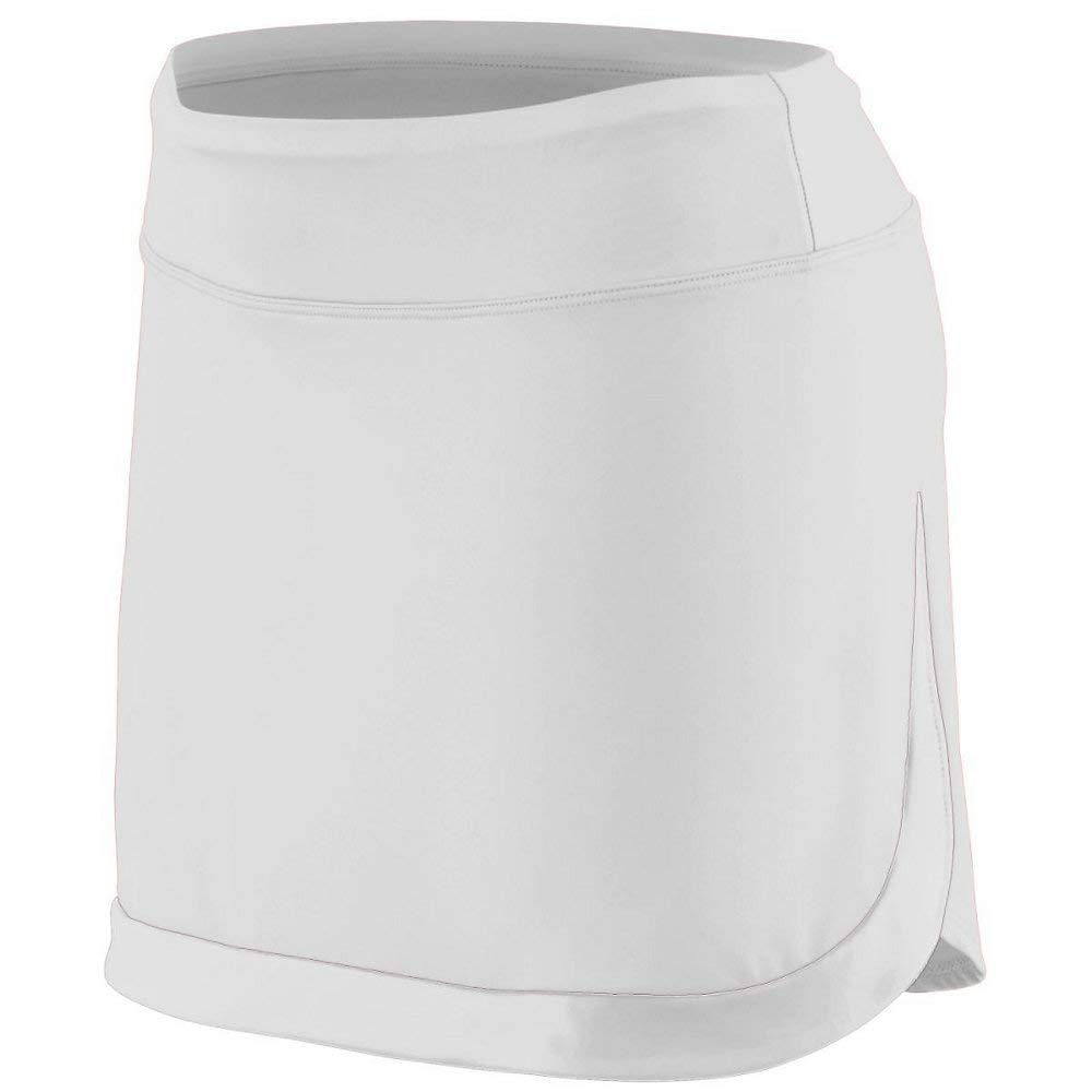 Ladies Medium White Skort by Augusta Sports
