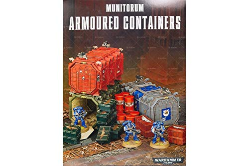 Games Workshop Warhammer 40k Munitorum Armoured Containers