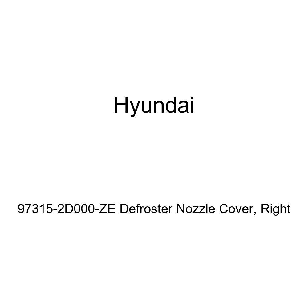 Right Genuine Hyundai 97315-2D000-ZE Defroster Nozzle Cover