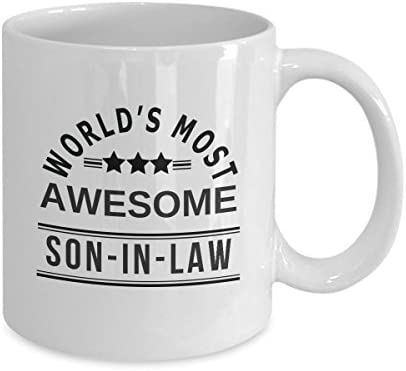 Son In Law Atleast You Don't Have Ugly Mother In Law Funny Mug Best Gifts