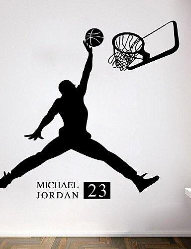 ZYPA pegatinas decorativas para pared de balón de baloncesto ...