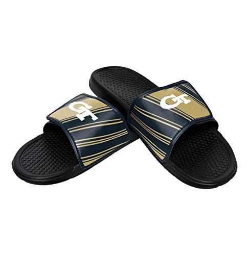 NCAA Georgia Tech Yellow Jackets Mens Legacy Sport SlideLegacy Sport Slide, Team Color, Medium/ Mens Size 9-10 (Jacket Legacy)