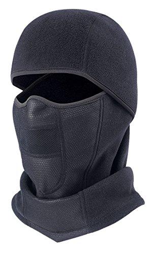 HARONAR Ski Mask Windproof Hinged Balaclava, Men and Women Face Mask by HARONAR