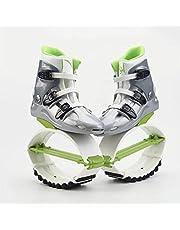 SXZHSM Bounce Jumping Shoes, Unisex Jumping Shoes Bounce Shoes för vuxna Ungdom, hoppa skor för fitness och träning, justerbara glidande hoppstövlar, bekväma och snygga design-premium slitstarka mater