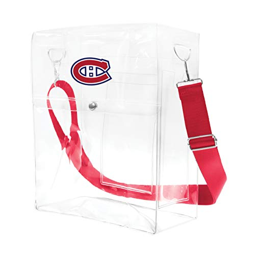 Littlearth NHL Montreal Canadiens Clear Ticket Satchel Purse ()