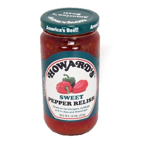 (Howard Sweet Pepper Relish 11 oz - 4 Unit Pack)