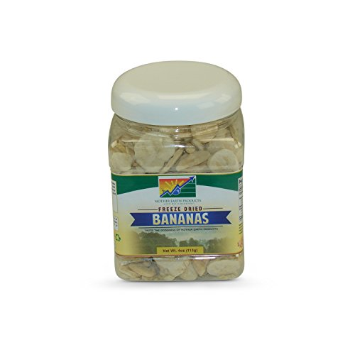 Mother Earth Products Freeze Dried Bananas, Quart Jar by Mother Earth Products