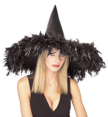 Rubie's Costume Co Black Witch with Featr&Tinsl