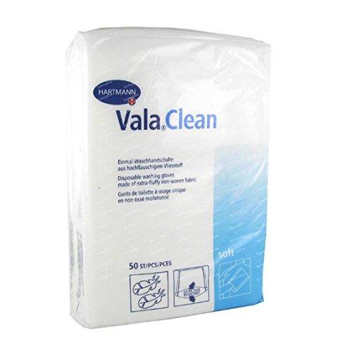 Hartmann Valaclean Soft-Set da 50 guanti da bagno Non tessuto, 15 x 23 cm Hartmann Accessories