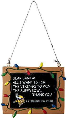 (Minnesota Vikings Resin Chalkboard Sign)