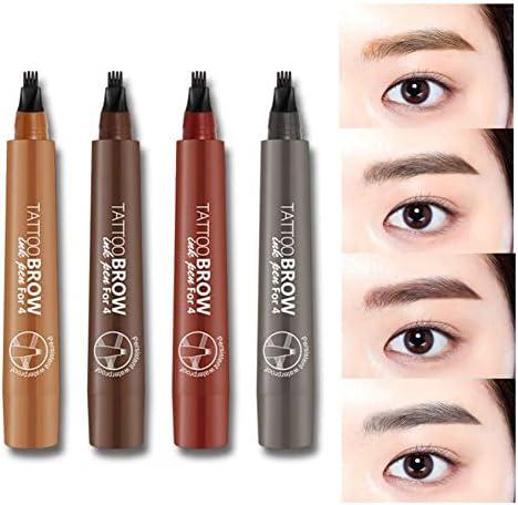 Balai Tattoo - Bolígrafo para cejas de larga duración, resistente al agua, gel para cejas y tinte para maquillaje de ojos