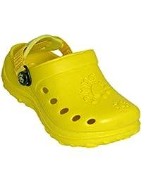 Dawgs Kid's Clogs Yellow 12 M US TlKjS