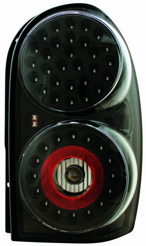 - IPCW LEDT-410CB Bermuda Black LED Tail Lamp - Pair