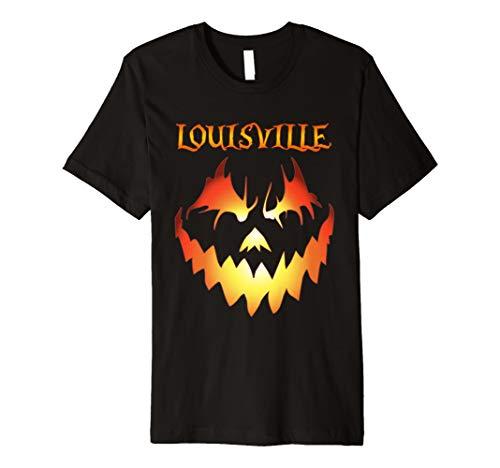 Louisville Jack O' Lantern Halloween Costume Premium Shirt