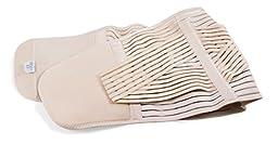 UFEELGOOD Lower Back Brace Lumbar Support Belt - Pain Relief and Correct Posture - Medium, Waist/Belly 37½\