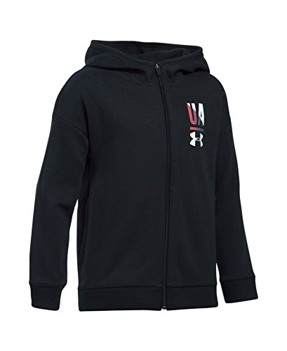 Under Armour Girls' UA Favorite Full Zip Hoodie Youth X-Large Black