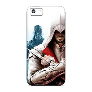 Fashionable Zps842jJZJ for ipod Touch 4 Case Cover For Assassins Creed Revelations Protective Case