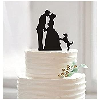 Amazon funny wedding cake toppers custom wedding cake topper funny wedding cake toppers custom wedding cake topper bride and groom cake topper junglespirit Images