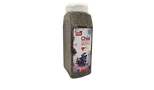 Amazon.com : 2 Pack Whole Chia Seeds/Semillas Salvia ...