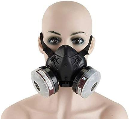 Half organic Respiratory Reusable Face Holulo Protection Mask Anti-dust Spray Vapor Paint Respirator