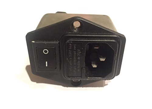 Precor Elliptical Power Entry Module Circuit Breaker EFX 5.25 5.21 5.23 250 vac by Precor Fitness