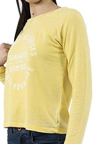 sweat Le Temps Des Cerises sunlover jaune