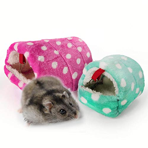 TeDUnaxxme Pet Bed Mini Hamster Hedgehog Warm Chinchilla Guinea Pig Nest Small Animal House