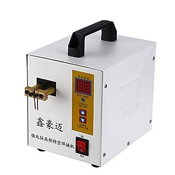 Control de microcomputadoras Spot soldadura soldador Inverter de alta potencia Spot soldador 18650 recargable soldadura máquina