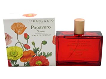 Papavero Soave Sweet Poppy Acqua di Profumo Eau de Parfum by L Erbolario Lodi