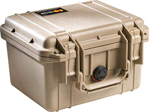 Pelican 1300 Camera Case With Foam (Desert Tan)