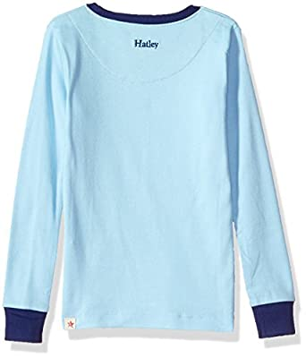 Hatley Boys' Organic Cotton Long Sleeve Applique Pajama Set