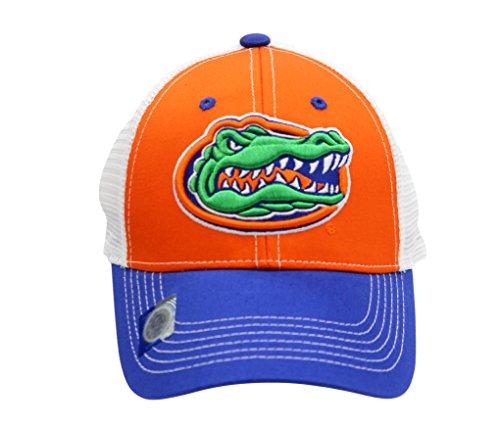 National Cap NCAA Eliminator Mesh Trucker Snapback (University Of Florida - Gators)