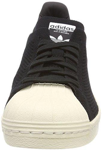 adidas Superstar 80s PK, Scarpe da Ginnastica Basse Uomo Nero (Core Black/Core Black/Footwear White 0)